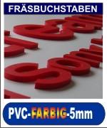 pvc 5mm durchgefärbt