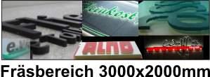 Frästechnik / 3D Signs